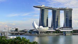 Marina Bay Sands Hotel, Marina Bay